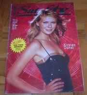Kirsten Dunst - SATELIT TV Serbian June 2004 VERY RARE - Books, Magazines, Comics