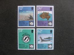 Territoire Antarctique Britannique: TB Série N° 201 Au N° 204, Neufs XX. - Neufs