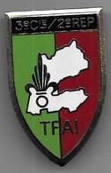Légion - 2e REP - 3e Cie - TFAI - Insigne émaillé LR Matriculé 112 - Armée De Terre