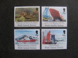 Territoire Antarctique Britannique: TB Série N° 205 Au N° 208, Neufs XX. - Neufs