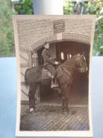 Photo Cavalier Belge Au 2° Régt D'Artillerie, 8° Batterie II Groupe. - Guerre, Militaire