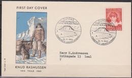 Grönland 1960 FDC Nr.45 50.Jahrestag Der Errichtung Der Mission U.Handelsstation Thule ( D2351) Günstige Versandkosten - FDC