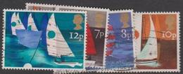 Great Britain SG 980-983 1975 Sailing, Used - 1952-.... (Elizabeth II)