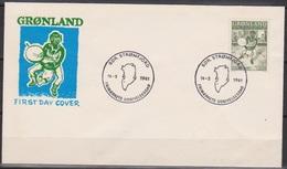 Grönland 1961 FDC Nr.46 Grönländische Sagen ( D2337) Günstige Versandkosten - FDC