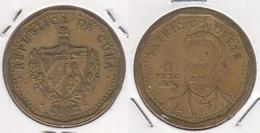 Cuba 1 Peso 2002 KM#347 - Used - Cuba