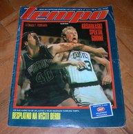 Larry Bird From Boston Celtics - TEMPO - Yugoslavian February 1988 VERY RARE - Books, Magazines, Comics