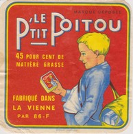 ETIQUETTE FROMAGE LE P'TIT POITOU - Quesos