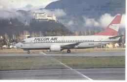Falcon Air Di Malmö, Sweden Boeing B737-300QC SE-DPB At Salzburg - 1946-....: Era Moderna