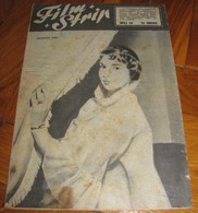 Lauren Bacall Francoise Arnoul FILM STRIP Yugo July 1954 EXT.RARE - Books, Magazines, Comics
