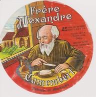 ETIQUETTE CAMEMBERT FRERE ALEXANDRE - Quesos