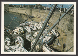 29 - CONCARNEAU - Carte De Membre - Le Port De Plaisance Après L'ouragan Du 15-16 Octobre 1987 - Illustrateurs & Photographes