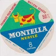 ETIQUETTE FROMAGE MONTELLA NESTLE - Quesos