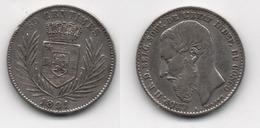 + BELGIQUE  + CONGO BELGE + 50  CENTIMES 1891 +  TRES BELLE + RARE + - Congo (Belge) & Ruanda-Urundi