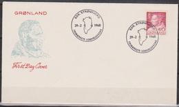 Grönland 1968 FDC Nr.69 König Frederik IX. ( D 5443) Günstige Versandkosten - FDC
