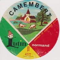 ETIQUETTE CAMEMBERT LUTIN - Quesos