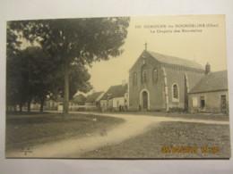 Cpa OUROUER LES BOURDELINS (18) La Chapelle Des Burdelins - France