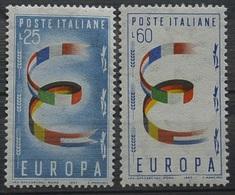 Serie Cpl.2V. Europa Unita MNH**(GA14 - Europa-CEPT