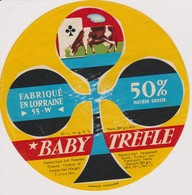 ETIQUETTE FROMAGE BABY TREFLE 55 W - Quesos