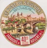 ETIQUETTE FROMAGE LE PONT DE SAULDRE - Quesos