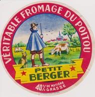 ETIQUETTE FROMAGE PETIT BERGER - Quesos