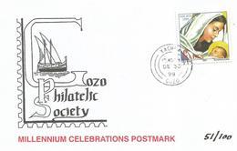 Malta 1999 Gozo Millennium Complete Set Nadur Xewkija Xlendi Qala Gharb Ghajnsielem Xaghra Victoria Cards - Malta