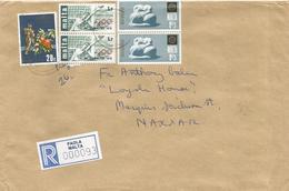 Malta 2000 Paola Waterpolo Prehistory Registered Domestic Cover To Naxxar - Malta