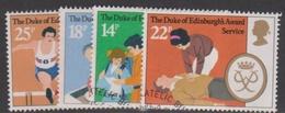 Great Britain SG 1162-1165 1981 25th Anniversary Duke Of Edinburgh Award Scheme, Used - 1952-.... (Elizabeth II)