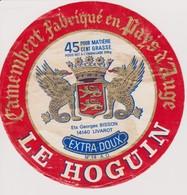 ETIQUETTE CAMEMBERT LE HOGUIN - Quesos