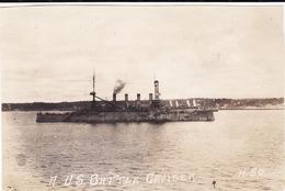 Photo 14-18 BREST ??? - Un Croiseur Américain, Cruiser (A210, Ww1, Wk 1) - Warships