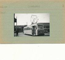 TRAM  VICINAL CHARLEROI  LIGNE 66  8.5 X 5 CM - Charleroi