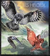 BURUNDI  BF 269  * *  NON DENTELE  Hiboux Chouette - Hiboux & Chouettes