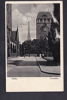 Pologne Szczecin Stettin Sendeturm ( Voyagé En 1937) - Pologne