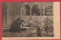 CPA: Jeux D'échecs - Tableau Salon De Paris 1904 - E.L. Weeks - Echecs