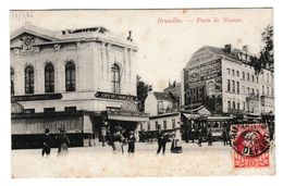 Bruxelles Porte De Namur 14/07/1906 - Otros