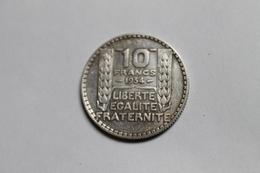 10 Francs 1934, Argent, France - K. 10 Francs