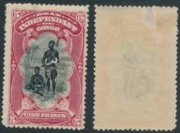 Etat Indépendant Du Congo 28 - * - Hinged - Dent 14¼ - Aminci - Congo Belge
