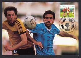 Australian Australia Maxi Postcard 1991 Football Footballers Soccer Sport Series Parramatta NSW - Cartes-Maximum (CM)
