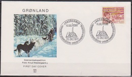 Grönland 1977 FDC Nr.104 100.Geb. Jorgen Bronlund ( D 5500) Günstige Versandkosten - FDC