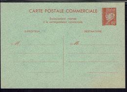 FR - 1941-43 - Carte Postale Commerciale Pétain  80 Ct. Rouge Sur Vert - TB - - Cartes Postales Types Et TSC (avant 1995)