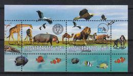 Hungary 2008 Animals S/S Y.T. BF 308 ** - Blocks & Sheetlets