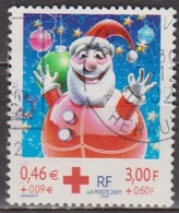 Croix Rouge  - FRANCE - Boule Père Noel - N° 3426 - 2001 - France