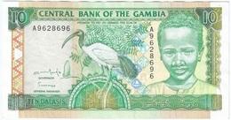 Gambia 10 Dalasis 1996 Pk 17 A UNC - Gambia