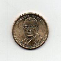 Stati Uniti - 2014 - 1 Dollaro - Warren G. Harding (29° Presidente 1921 -1923) - Vedi Foto - (MW2256) - Emissioni Federali