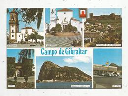 Cp ,CAMPO DE GIBRALTAR ,diversos Aspectos ,  écrite , Multi Vues - Gibraltar