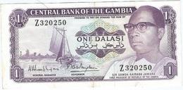 Gambia 1 Dalasi 1972 Pk 4 G.r REPLACEMENT Firma 8 Ref 4 - Gambia