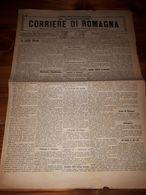 1899 - GIORNALE - N.5 CORRIERE ROMAGNA - RAVENNA RUSSI COTIGNOLA LUGO ALFONSINE - Ante 1900