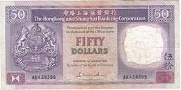 Hong Kong (Gran Bretaña) 50 Dollars 1-1-1987 Pk 193 A.3 Titulo Firma GENERAL MANAGER - Hong Kong