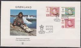 Grönland 1978 FDC Nr.106 - 108 Königin Margarethe II. ( D 4204) Günstige Versandkosten - FDC
