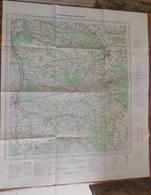 IGN Carte Environs De Courtenay  1/100000   -  1961 - Cartes Topographiques