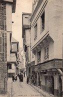 29 MORLAIX Rue Saint- Melaine ..MAGASINS ..ANIMATION CPA  N°127 - Morlaix